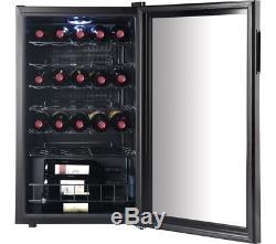 Under Counter Chiller Fridge Bar Cafe Wine Beer Bottle Cans Drinks Cooler 88 LTR