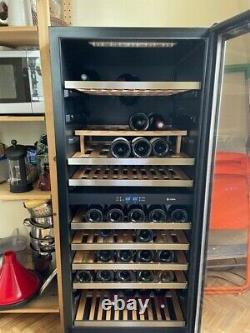 Used wine cooler fridge, Caple, up to 100 bottles, excellent condition
