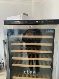 Used wine cooler fridge Dual Zone 92 Bottle Capacity