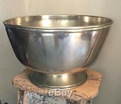 VERY LARGE multi bottle VINTAGE SILVER PLATED Champagne, wine cooler, ice bucket