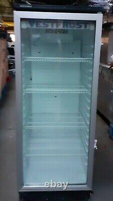 Vestfrost Upright Drinks Display Fridge Wine Glass Bottle Chiller Cooler PERFECT