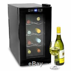 VinoTech 8 Bottle Wine Cellar 25 Litre Digital Wine Cooler 8ºC to 18ºC