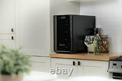 Wine Bottle Chiller Cooler Fridge Mini Bar Beer Table Vertical Refrigerator