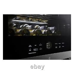 Wine Coole LG Signature LSR200W, 65 Bottle Freestanding, InstaView in Stainles