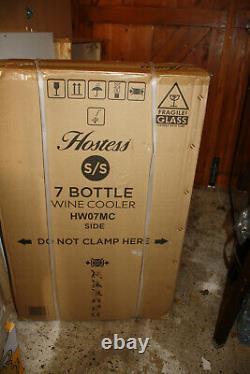 Wine Cooler Chiller 7 Bottle Wine Fridge Free Standing