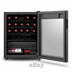 Wine Cooler Class A 66L Fridge 24 Bottles Drinks Beer Dual-Zone Freestanding NEW