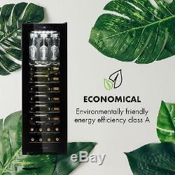Wine Cooler Fride Refrigerator Drinks 56 Bottles Energy A Free Standing Black