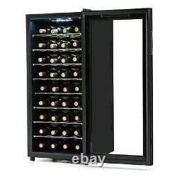 Wine Cooler Fridge Refrigerator 36 Bottles Home Restaurant Thermoelectric 118L