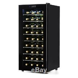 Wine Cooler Fridge Refrigerator 36 Bottles Home Restaurant Thermoelectric 118L