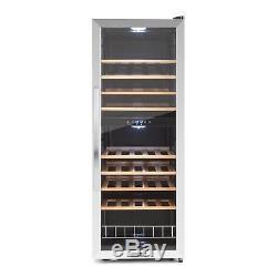 Wine Cooler Fridge Refrigerator 54 Bottles Beer Cooling Drinks 148 L LCD display