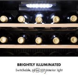 Wine Cooler Fridge Refrigerator Drinkss chiller 29 Bottle Energy A Bar LED
