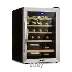Wine Cooler Fridge Regrigerator drinks Chiller 65 L 19 Bottles 85 W LED Black