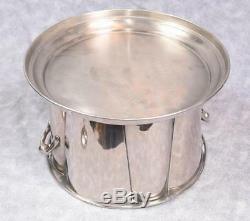 Wine Cooler Wine Bucket Ice Bucket Holds 4 Bottles Nickel Plated