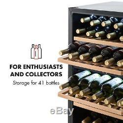 Wine Cooler refrigerator fridge 41 bottles 34 litre mini bar beverage Cool