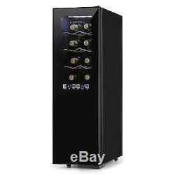 Wine Cooler refrigerator fridge 45 litres Cooling 16 bottles LED Lighting glass