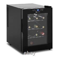 Wine Fridge Wine Refrigerator Wine Cooler Wine Chiller 33L 11-18 °C 12 Bottles