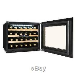 Wine cooler Fridge regrigerators LED Light Deinks Beer Chiller Bar 2 Models