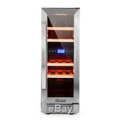 Wine cooler Refrigerator Fridge Drinks Chiller Bar home 17'Bottles 53 L LCD