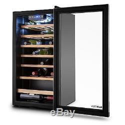 Wine cooler Refrigerator fridge 88 lit 26 Bottles beer insulated storage Drink