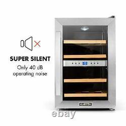 Wine cooler fridge refrigerator Beer mini bar 12 bottles counter top Si